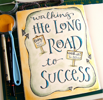 Road to success by elvie studio